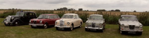 Wolseley 18/85, Wolseley Six, Wolseley 15/50, Wolseley 1500 and Wolseley 15/60 at the Engine Shed
