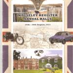 Wolseley Register National Rally 2021 booklet